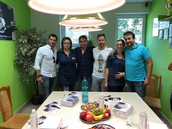 Oteckovia s pracovníčkami KS ÚNSS Košice
