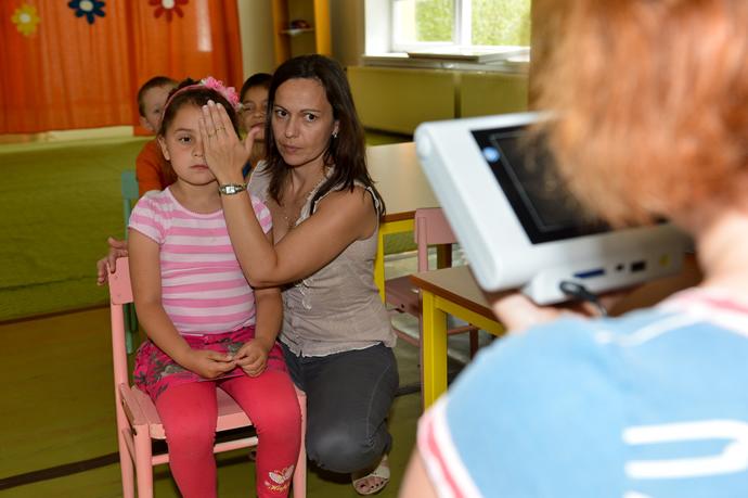 Zdravé oči už v škôlke - ilustračná fotografia z merania